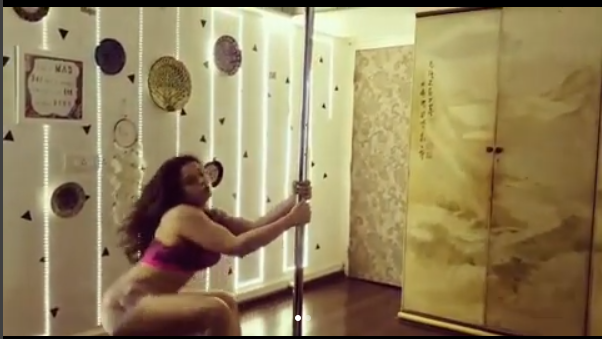 Neha Pendse Is Back With A Sensational Pole Dance Video -5637