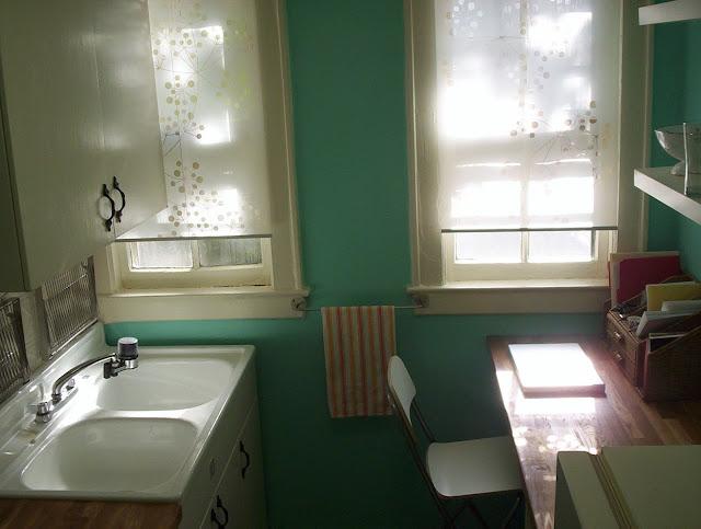 retro renovation for rental kitchen