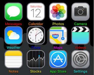 MagicLabels is a cydia tweak  that lets you colorize your homescreen app labels and folder icon labels to any color you want