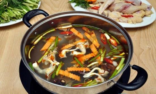 Cách làm lẩu gà đơn giản tại nhà | Các món ăn ngon từ Thịt Gà