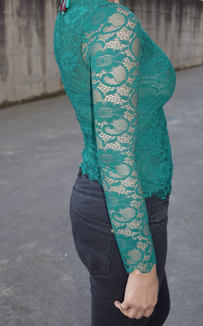 outfit maglia pizzo verde come abbinare una maglia in pizzo abbinamenti maglia pizzo mariafelicia magno fashion blogger colorblock by felym fashion blogger italiane blog di moda outfit primaverili outfit marzo 2017