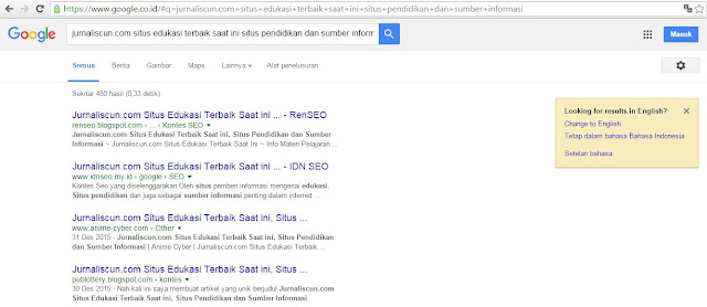 Screen Google Chrome Kontes