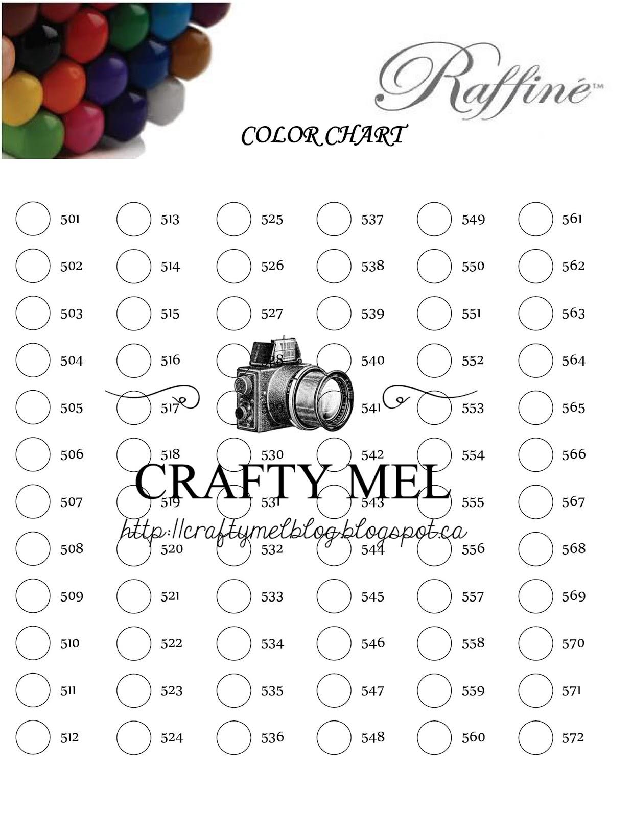 Assez Crafty Mel's Blog: Nuancier Marco Raffiné 7100 (72 couleurs) AE09