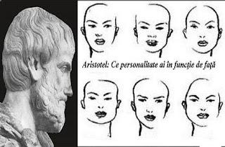 Aristotel: Ce personalitate ai în funcţie de faţă