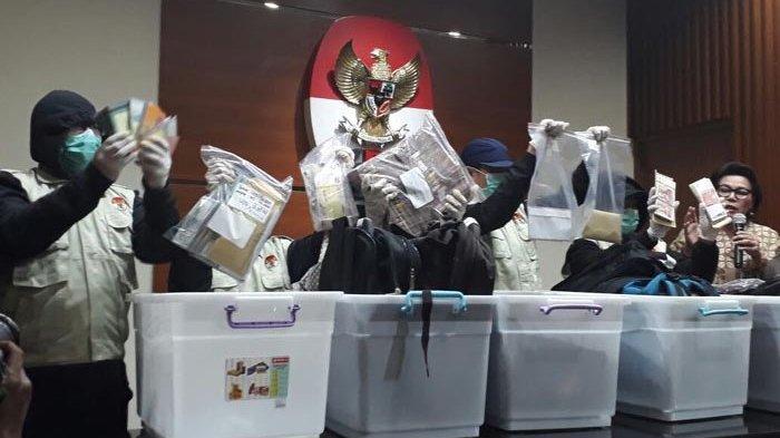 KPK : Antonius Lupa Asal Uang Rp 18,9 Miliar yang Ada di 33 Tas