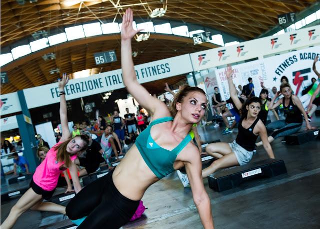 I palchi e le gare della FIF a Riminiwellness