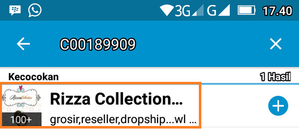 Grup BBM Channel Rizza Collection