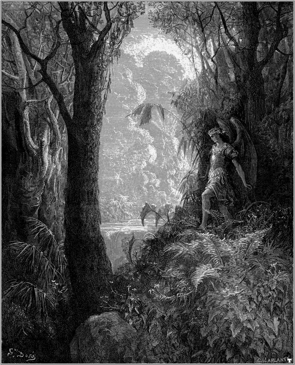 Garden Of Eden Landscape: A Classic A Day: The Nightmare Of Eve