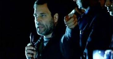 Congress vice president Rahul Gandhi received a rapturous welcome in JNU by the students not affiliated to ABVP.  Though he spoke into a mike, the loud cheers drowned most of what he said.  Rahul Gandhi said those branding students seditious themselves were anti-national and urged students not to get bullied.