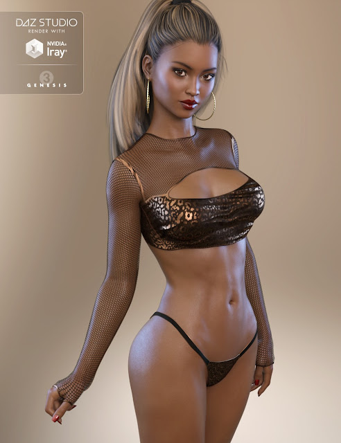 FW Brianna HD for Genesis 3 Female
