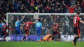 Arsenal Kalah 1-2 di Kandang Bournemouth