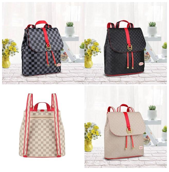 tas ransel wanita murah meriah, tas ransel wanita 100 ribuan, tas backpack wanita online