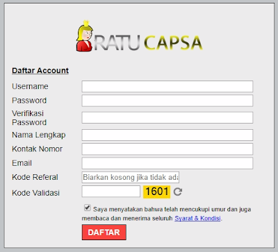 form pendaftaran capsabandarq.com capsa online, agen bandar q, domino 99, qiu qiu online, bandarq