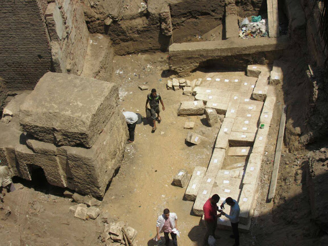 New pharaonic tomb unearthed in Sharqia