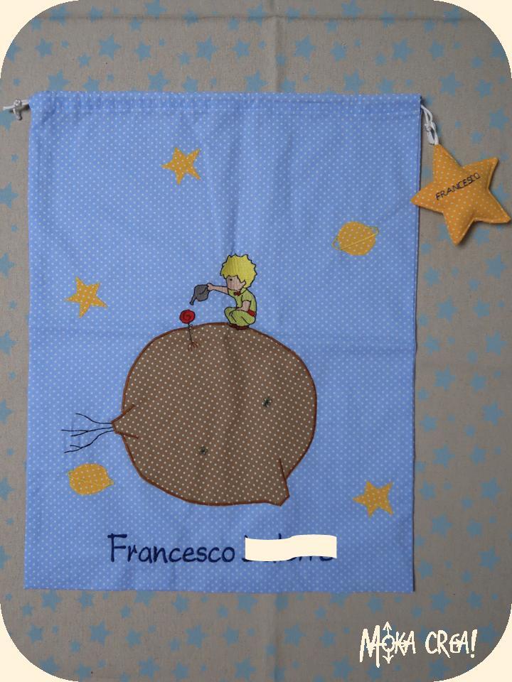 Copripiumino Piccolo Principe.Moka Crea Il Set Asilo Per Francesco Bavaglini Asciugamani E