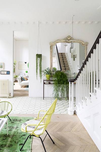 Une maison victorienne la d coration so british blog d co mydecolab - Decoration escalier maison ...