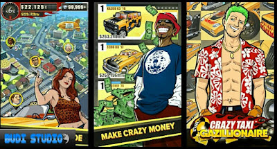 Crazy Taxi Gazillionaire Mod Apk (Unlimited Money)