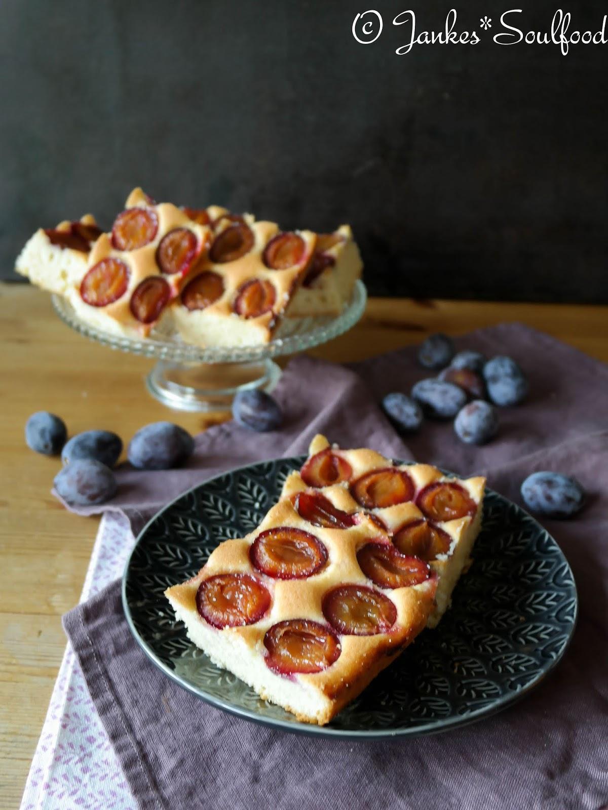 Zwetschgenkuchen vom Blech - Jankes Soulfood