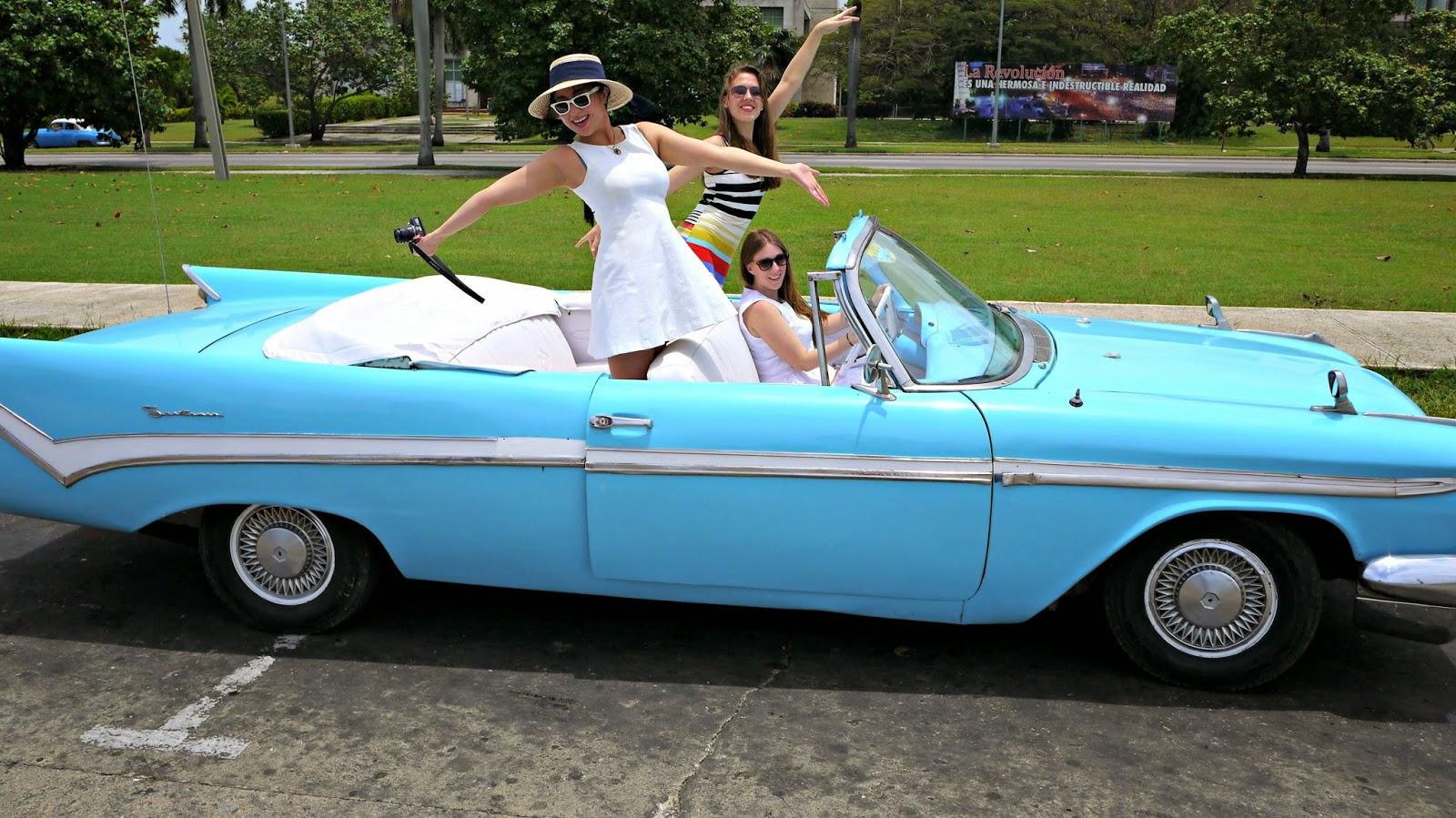 Classic Car tours in Havana, Cuba