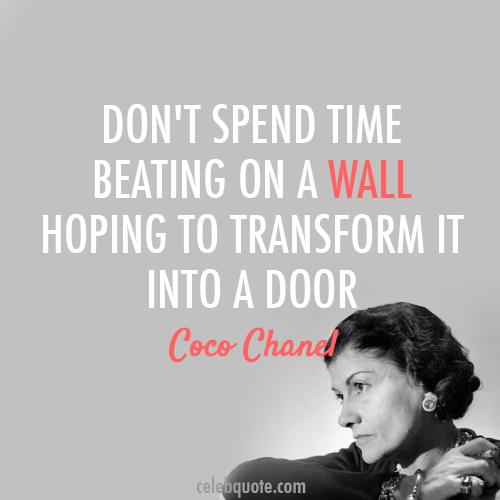 Coco Chanel Quotes Espanol. QuotesGram