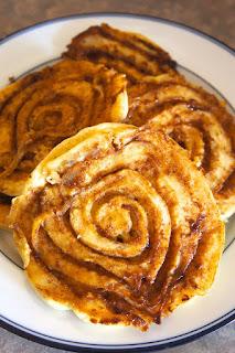 Cinnamon Roll Pancakes: Savory Sweet and Satsifying