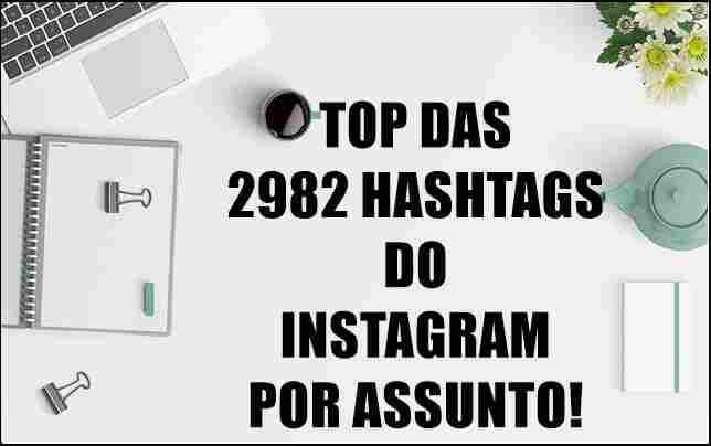 Conquiste novos seguidores com hashtags.