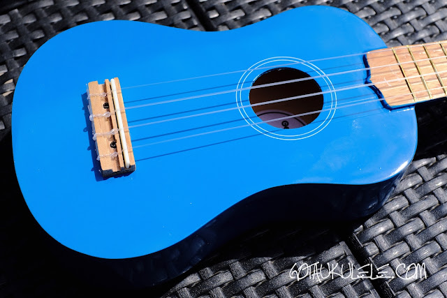 Gear4Music Soprano Ukulele body