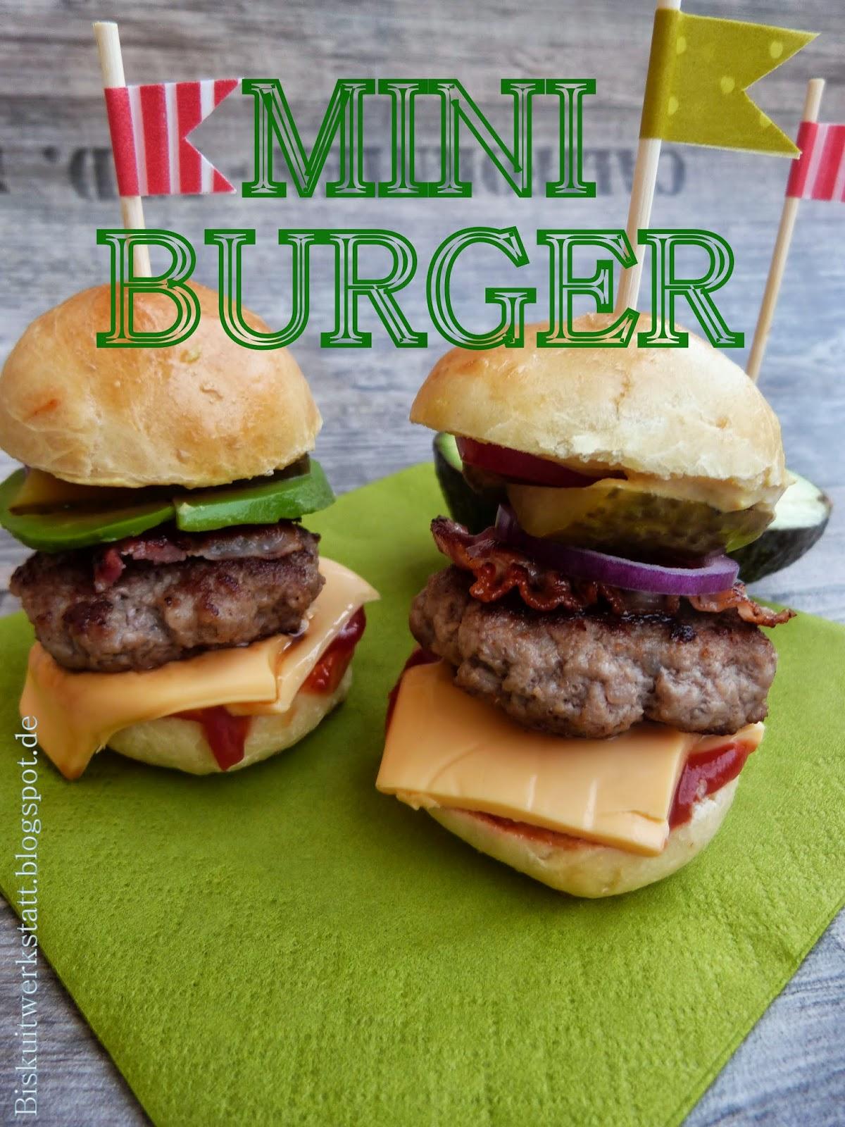 ein rezept f r mini burger buns und warum mini burger noch. Black Bedroom Furniture Sets. Home Design Ideas