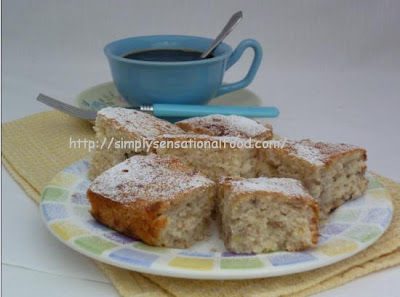 Eggless Banana Cake Best Recipe