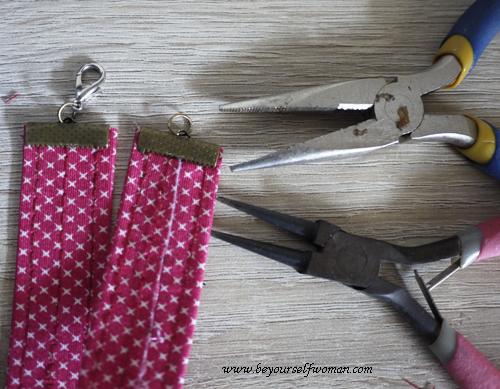 cara membuat gelang kain