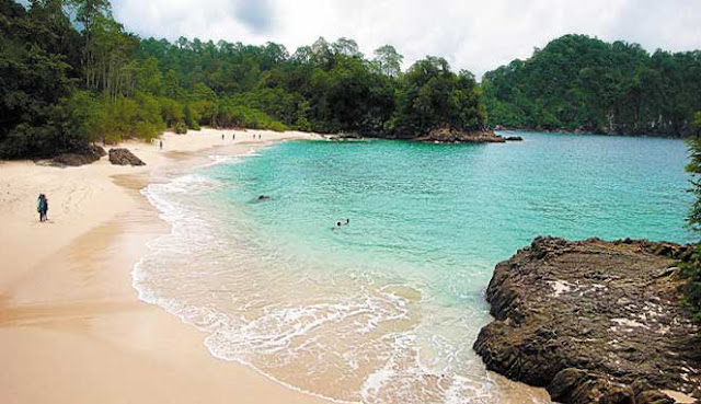 Pantai Teluk Hijau yaitu pantai eksotis di Banyuwangi yang selalu memancarkan keindahan d TELUK HIJAU, PANTAI EKSOTIS DI BANYUWANGI YANG WAJIB DIKUNJUNGI