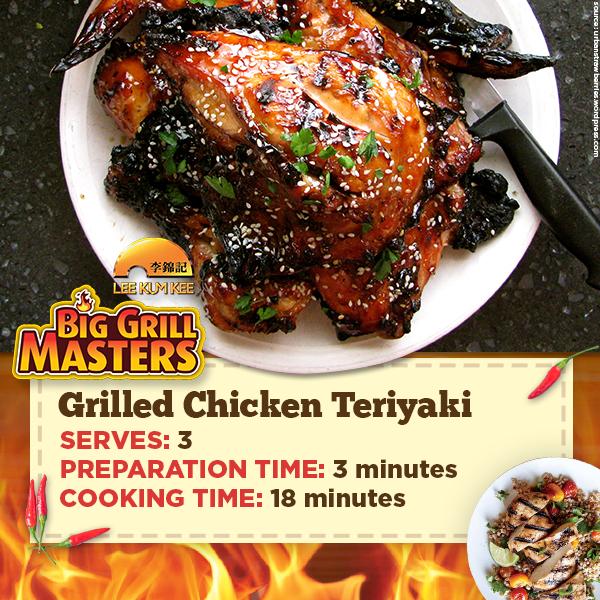 Grilled Chicken Teriyaki Recipe