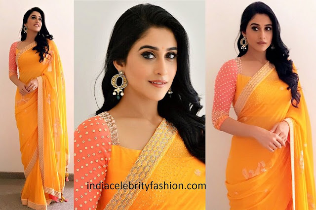 Regina Cassandra in Mad Sam Tin Zin Saree