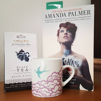 Amanda Palmer The Art of Asking Tea Addict Greek Tea Pensée positive Gratitude Journal Positive Thinking Little Things Count Your Blessings