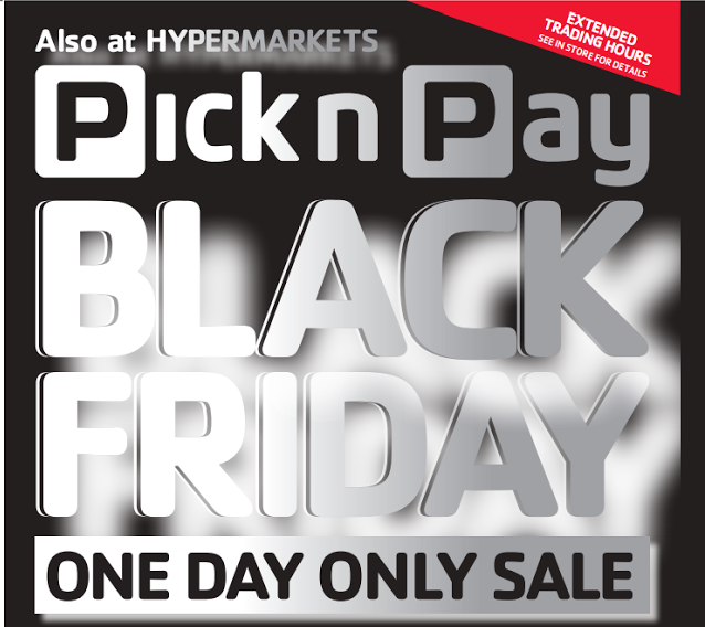 Image result for Pick n Pay 2018 Black Friday