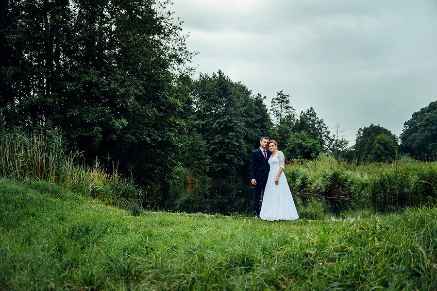 plener ślubny, sesja ślubna, Lublin, zakochani, sesja przy wodzie, sesja w deszczowy dzień