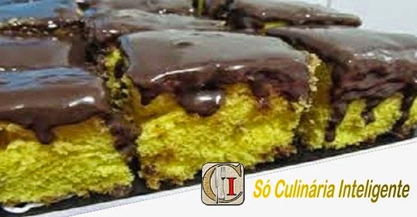 Bolo de Cenoura com Cobertura de Chocolate (Imagem: Reprodução/Internet)