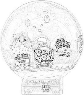 Pikmi Pops Surprise! DoughMis Coloring Pages Free and Downloadable coloring.filminspector.com