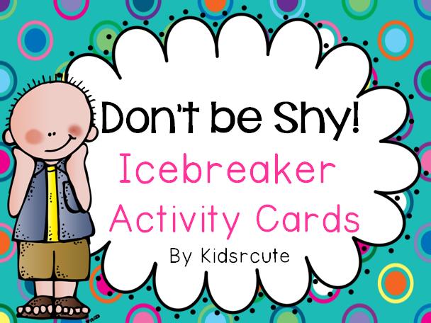 Creative Lesson Cafe: Back to School~ Icebreaker Activity ...  Creative Lesson...