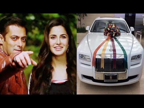 salman gifts to katrina, expensive gifts from bollywood
