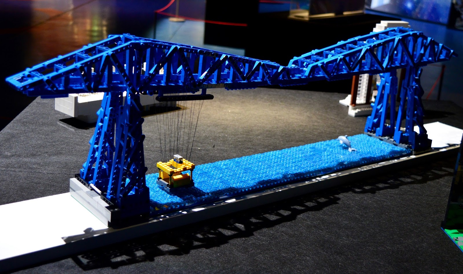 Brick History & North East Landmarks | New Lego Exhibitions at Life Science Centre, Newcastle | A Review - A Lego Transporter Bridge