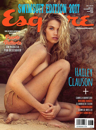 Hailey Clauson hot sexy bikini photo shoot Esquire Mexico Magazine swimsuit edition