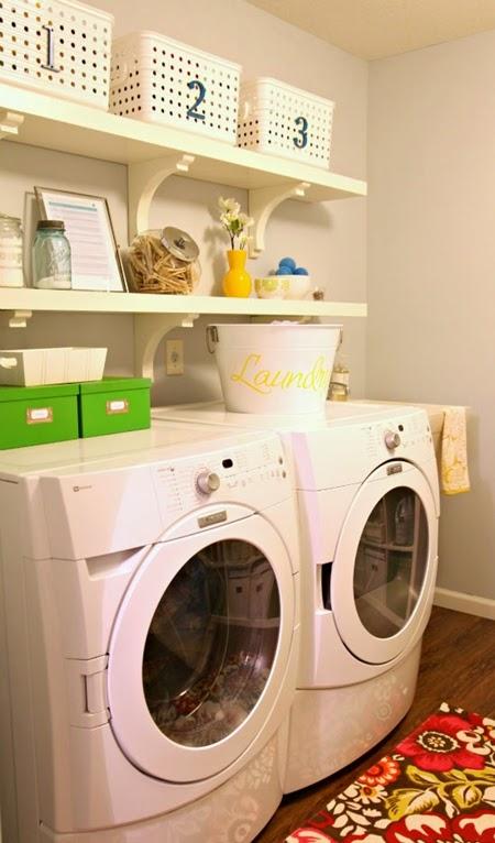 decorar a lavanderia