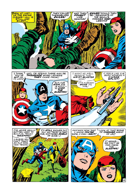 Read online Captain America (1968) comic -  Issue #102 - 15