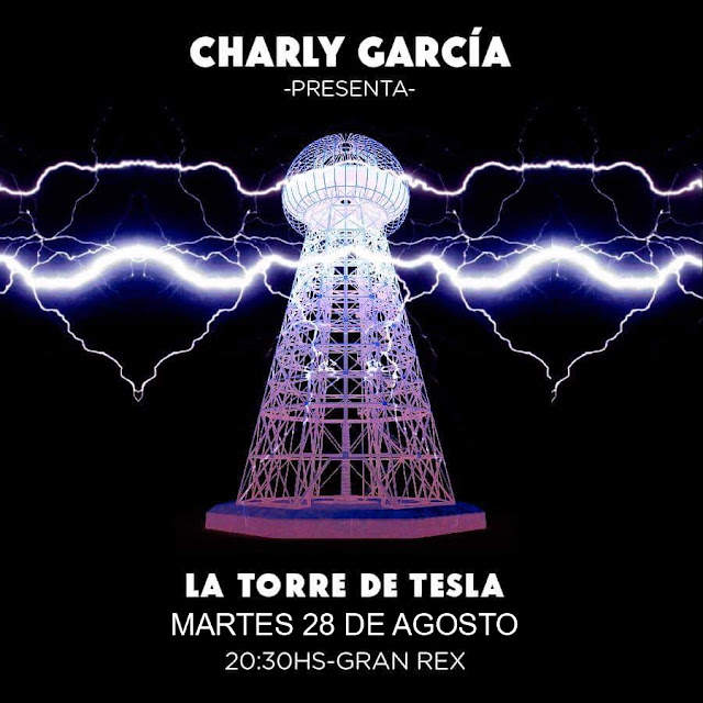 Charly García se presentará en el teatro Gran Rex por segunda vez en el año el 28 de agosto
