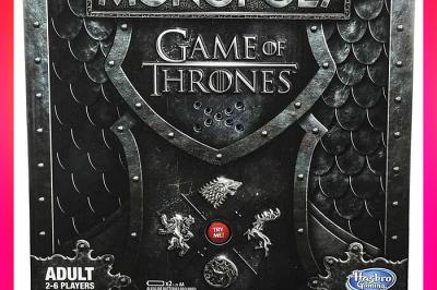 Permainan Monopoly Game of Thrones Mainan Kekinian Yang Lagi Trending