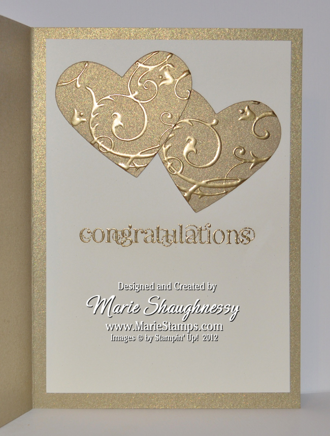 stamping inspiration golden anniversary card for my