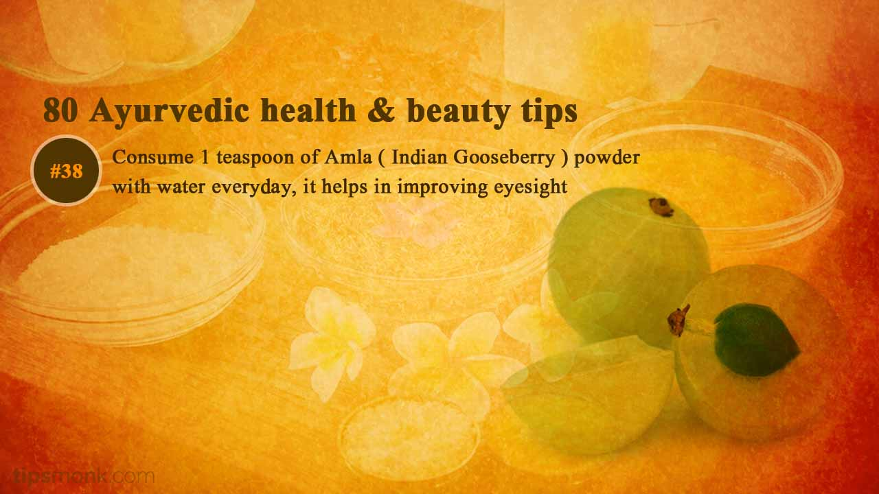 Ayurvedic health tips for good eyesight from Ayurveda books - Tipsmonk