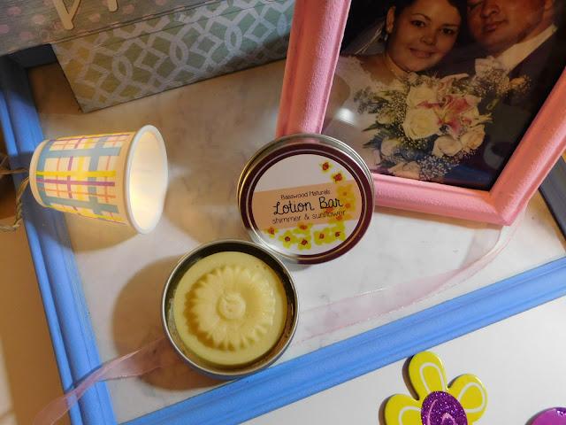 basswood naturals sunflower lotion bar
