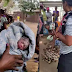 See what happened to pregnant mad woman in broad daylight (photos)